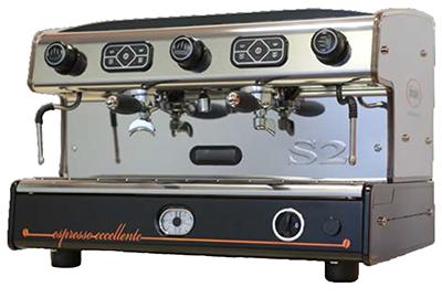 Verhuur 2 groeps espressomachine