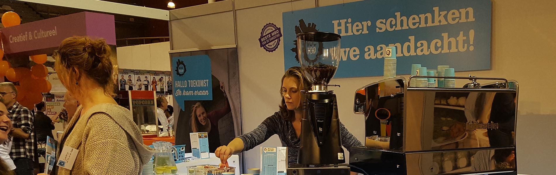 Een professionele espressomachine huren